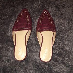 Charles by Charles David Maroon shoes
